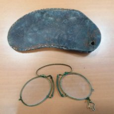 Antigüedades: GAFAS QUEVEDOS SIGLO XIX CON ESTUCHE ORIGINAL. Lote 213322072