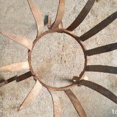 Antigüedades: MACETERO FORJA. Lote 213328103