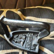 Antigüedades: ANTIGUA PLANCHA DE HIERRO LEGAULOIS N4. Lote 213388242