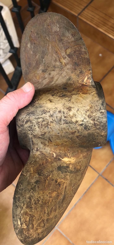 Antigüedades: Lote antiguo de hélices de barco - Foto 13 - 213389163