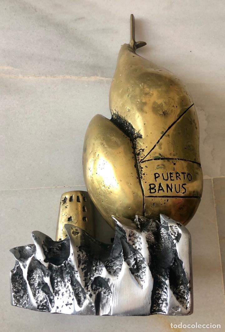 Antigüedades: PUERTO BANUS , GRAN DISEÑÓ CONMEMORATIVO - Foto 2 - 213393328