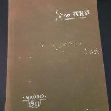 Antigüedades: INSTRUCCIONES PARA BORDAR DE MÁQUINA DE COSER SINGER, DE 1911. Lote 229310170