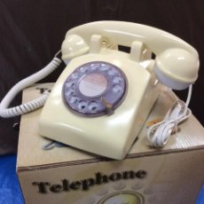 Teléfonos: TELÉFONO CLASICO BLANCO VINTAGE ¡ NUEVO !. Lote 78474041