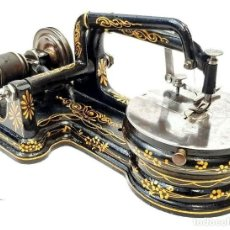 Antigüedades: ANTIGUA MAQUINA DE COSER FLORENCE ANTIQUE & RARE SEWING MACHINE CIRCA 1865 USA. Lote 213480062