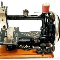 Antigüedades: ANTIGUA MAQUINA DE COSER KIMBALL & MORTON SO-ALL ANTIQUE RARE SEWING MACHINE. Lote 213481231