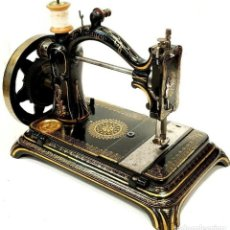 Antigüedades: ANTIGUA MAQUINA DE COSER LA VOYAGEUSE Nº6 1887 COMPLETA ANTIQUE SEWING MACHINE. Lote 213482073