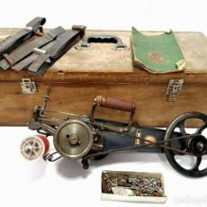 Antigüedades: ANTIGUA IMAQUINA DE COSER ALFOMBRAS SINGER 35K1 SEWING MACHINE FOR CARPETS. Lote 213484062