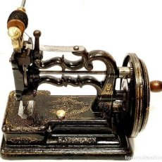 Antigüedades: ANTIGUA MAQUINA DE COSER H. VIGNERON 1897 ANTIQUE SEWING MACHINE A COUDRE. Lote 213484687