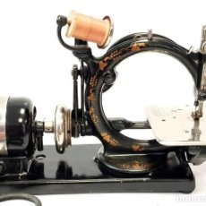 Antigüedades: ANTIGUA MAQUINA DE COSER WILLCOX & GIBBS A 110V ANTIQUE RARE SEWING MACHINE 1903. Lote 213487466