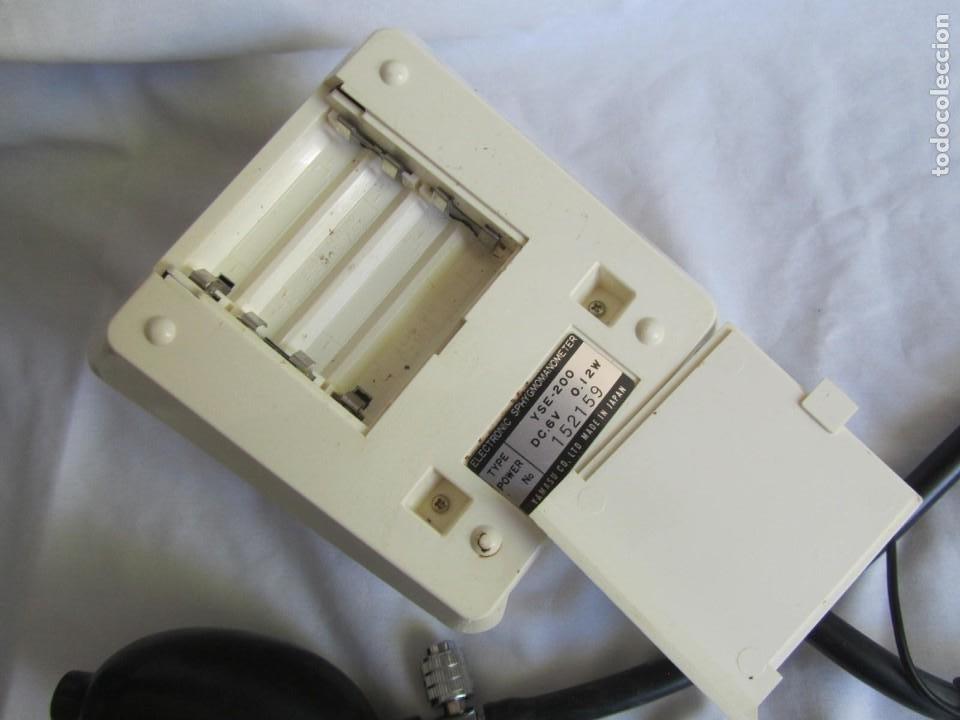 Antigüedades: Tensiómetro japonés Yamisu, eléctrico a pilas - Foto 7 - 213488928
