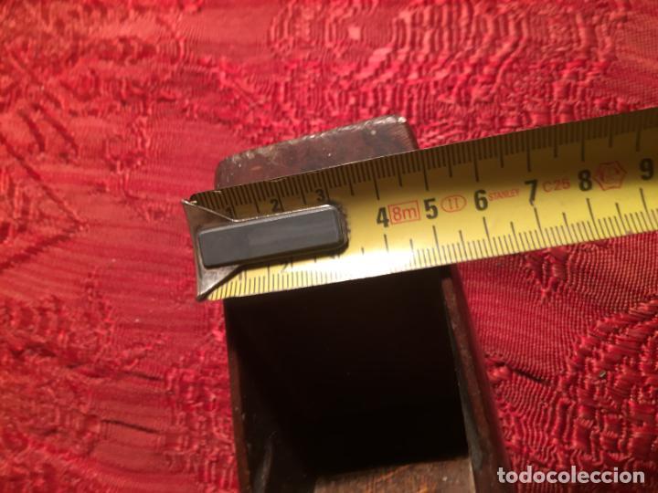 Antigüedades: Antiguas garlopa / ribot de carpintero de los años 40-50 - Foto 8 - 213494230