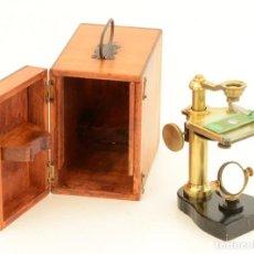Antigüedades: MICROSCOPIO ANTIGUO DE DISECCION NACHET. Lote 213532043