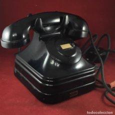 Teléfonos: ANTIGUO TELÉFONO DE BATERÍA LOCAL 5525B CON MAGNETO, DE STANDARD ELÉCTRICA PARA LA CTNE. Lote 213610242
