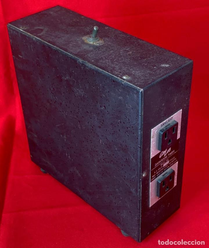 Antigüedades: TEMPORIZADOR GRALAB PARA FOTOGRAFIA CUARTO OSCURO MODELO 300 - Foto 2 - 213644646