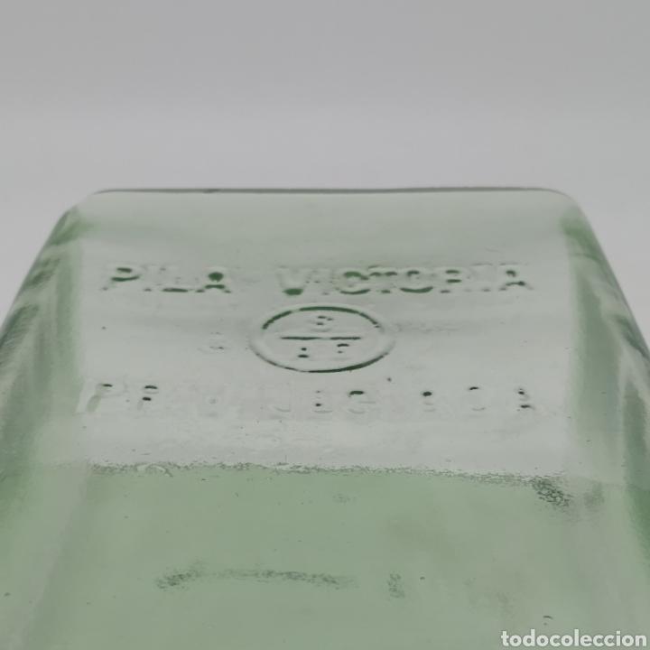 Antigüedades: Vasija PILA VICTORIA PRIVILEGIADA, de la Sociedad Anglo Española de Electricidad, años 20 - 30 - Foto 3 - 213669090