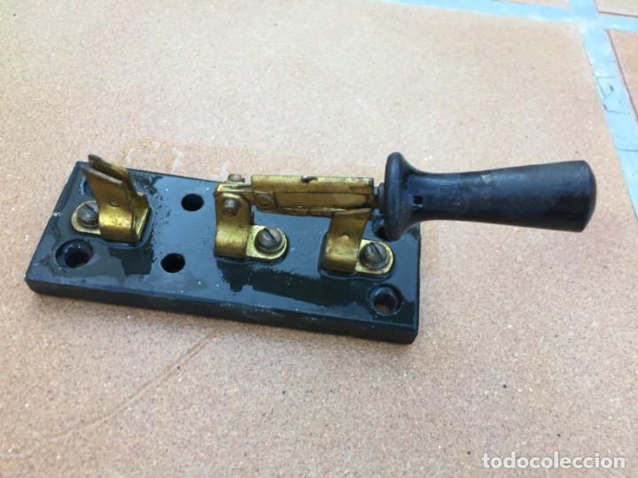 Antigüedades: Conmutador de cuchillas - Foto 2 - 213678367