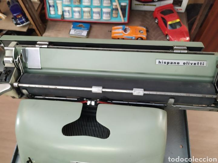 Antigüedades: Maquina de escribir Hispano olivetti lesicon 80 - Foto 3 - 213765073