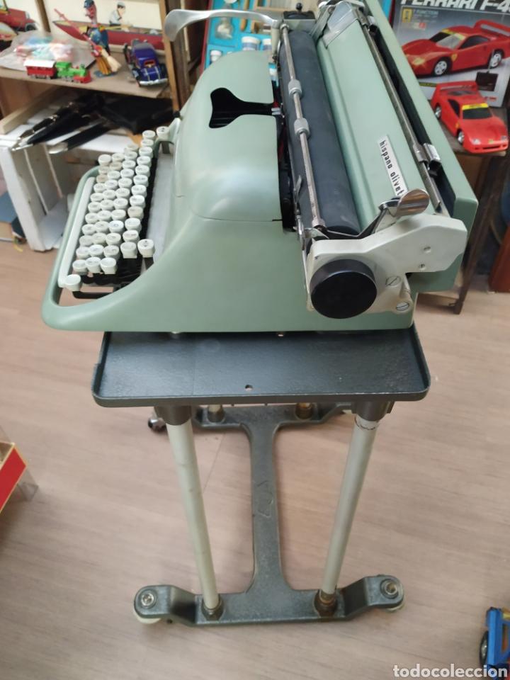 Antigüedades: Maquina de escribir Hispano olivetti lesicon 80 - Foto 6 - 213765073