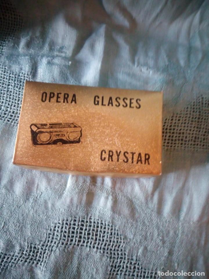 Antigüedades: Antiguos binoculares de opera,en su caja original. - Foto 2 - 213822841