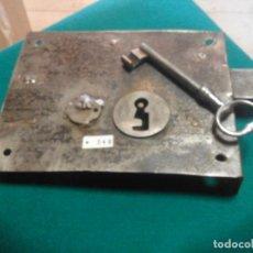 Antiquités: ANTIGUA CERRADURA DE FORJA. Lote 213886008