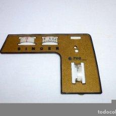 Antigüedades: CHAPA LATERAL MAQUINA DE COSER SINGER 720.. Lote 213923832