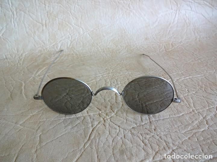 Antigüedades: antiguas gafas con patillas rectas - Foto 6 - 214116040