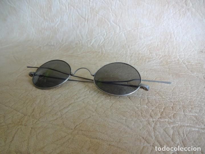 Antigüedades: antiguas gafas con patillas rectas - Foto 3 - 214116040