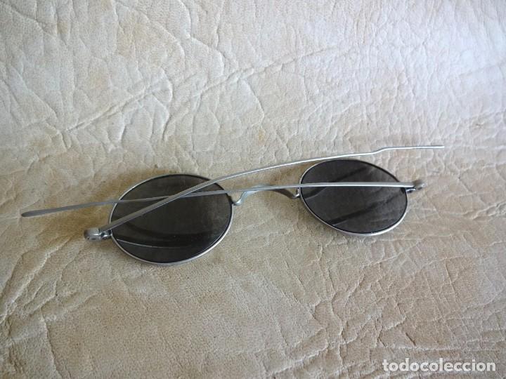 Antigüedades: antiguas gafas con patillas rectas - Foto 4 - 214116040