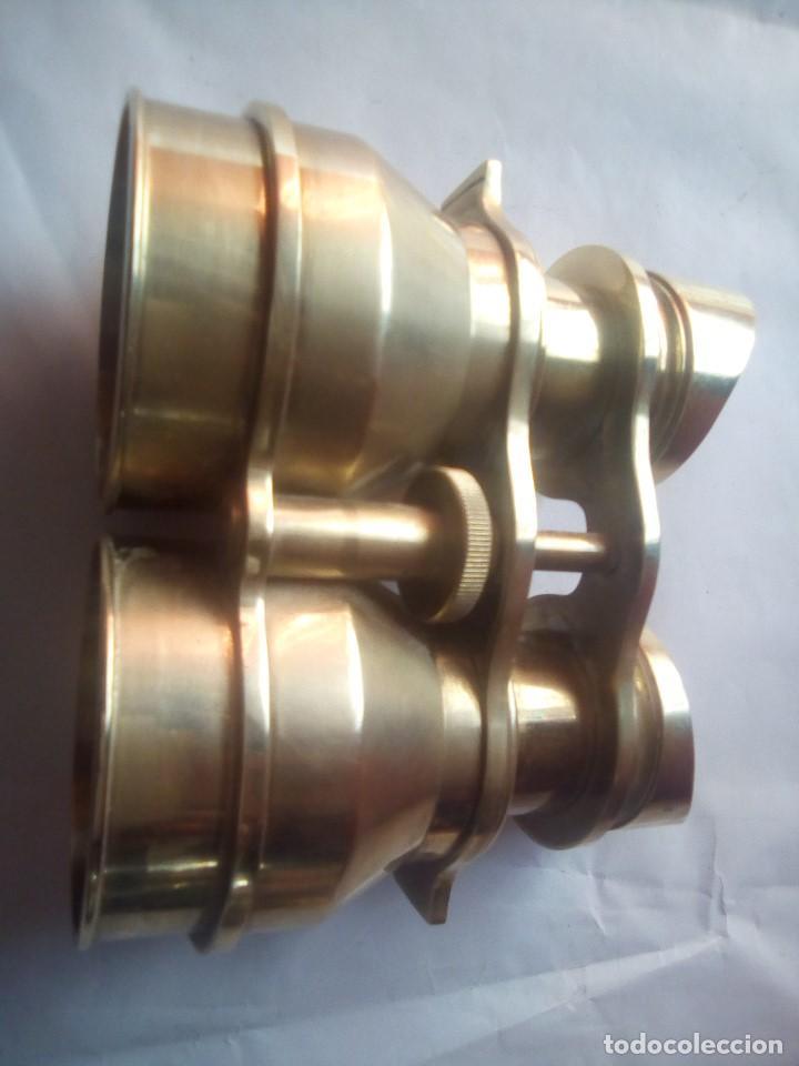 PRISMATICOS BRONCE O LATON (Antigüedades - Técnicas - Instrumentos Ópticos - Prismáticos Antiguos)