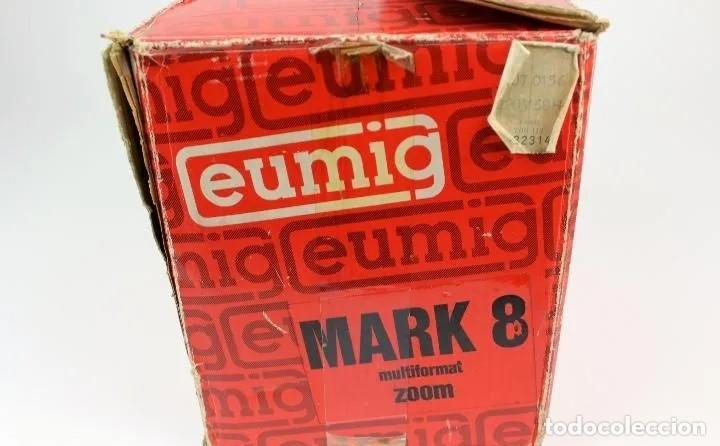 Antigüedades: PROYECTOR SUPER 8 EUMIG MARK 8, del AÑO 1966. En su estuche original. - Foto 11 - 252877330