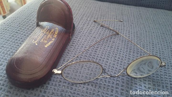 Antigüedades: Gafas Quevedo con funda rígida - Foto 3 - 214162641