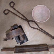 Antigüedades: LOTE FUNDIR METALES FORJA. Lote 214175078