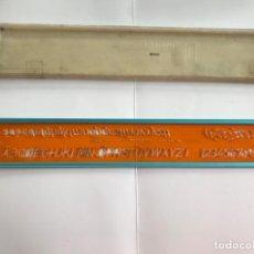 Antigüedades: PLANTILLA DE DIBUJO 201/10 ORIGINAL - STANDARDGRAPH FEDER PEN 510. Lote 214261536