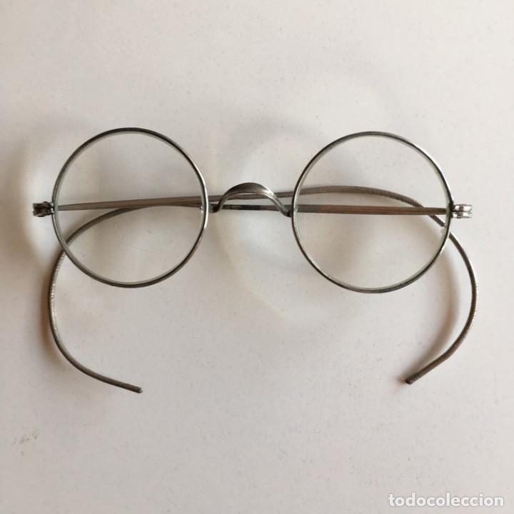 GAFAS ANTIGUAS QUEVEDO FINALES SIGLO XIX, PRINCIPOS S. XX (Antigüedades - Técnicas - Instrumentos Ópticos - Gafas Antiguas)