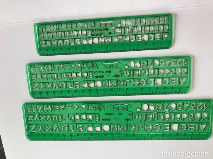 PLANTILLA DE DIBUJO (Antigüedades - Técnicas - Aparatos de Cálculo - Reglas de Cálculo Antiguas)