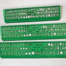 Antigüedades: PLANTILLA DE DIBUJO. Lote 214262173