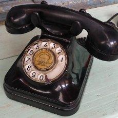 Teléfonos: ANTIGUO TELEFONO DE BAQUELITA , MUY BUEN ESTADO GENERAL. Lote 214296385