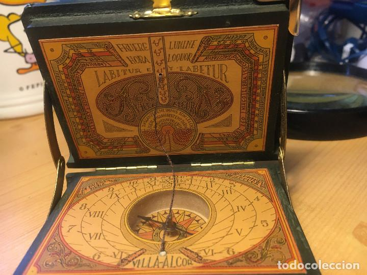 Antigüedades: brujula SIDEREVS NUNCIVS- Galileo Galiley- en estuche - Foto 2 - 214533820