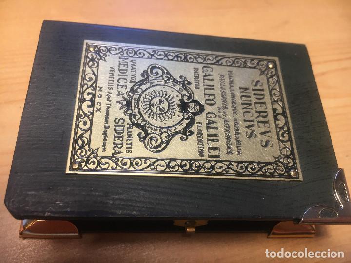 Antigüedades: brujula SIDEREVS NUNCIVS- Galileo Galiley- en estuche - Foto 3 - 214533820