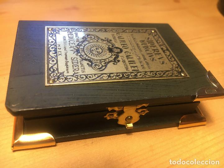 Antigüedades: brujula SIDEREVS NUNCIVS- Galileo Galiley- en estuche - Foto 4 - 214533820