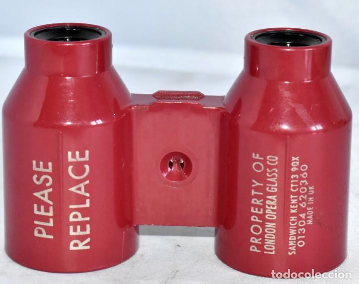 Antigüedades: BONITOS PRISMATICOS, BINOCULARES OPERA LONDON OPERA GLASS .INGLATERRA,1950.MUY BUEN ESTADO.FUNCIONAN - Foto 8 - 214556697