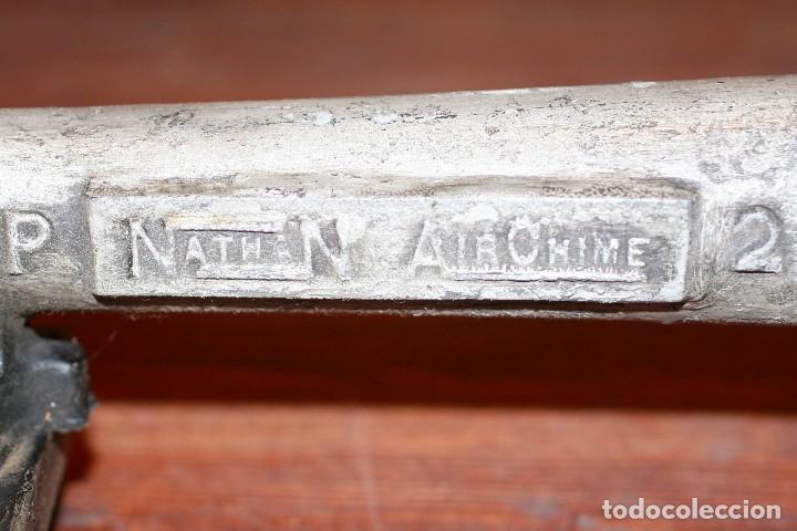 Antigüedades: Trompeta locomotora 1800 S/318 de RENFE - Foto 4 - 214569988