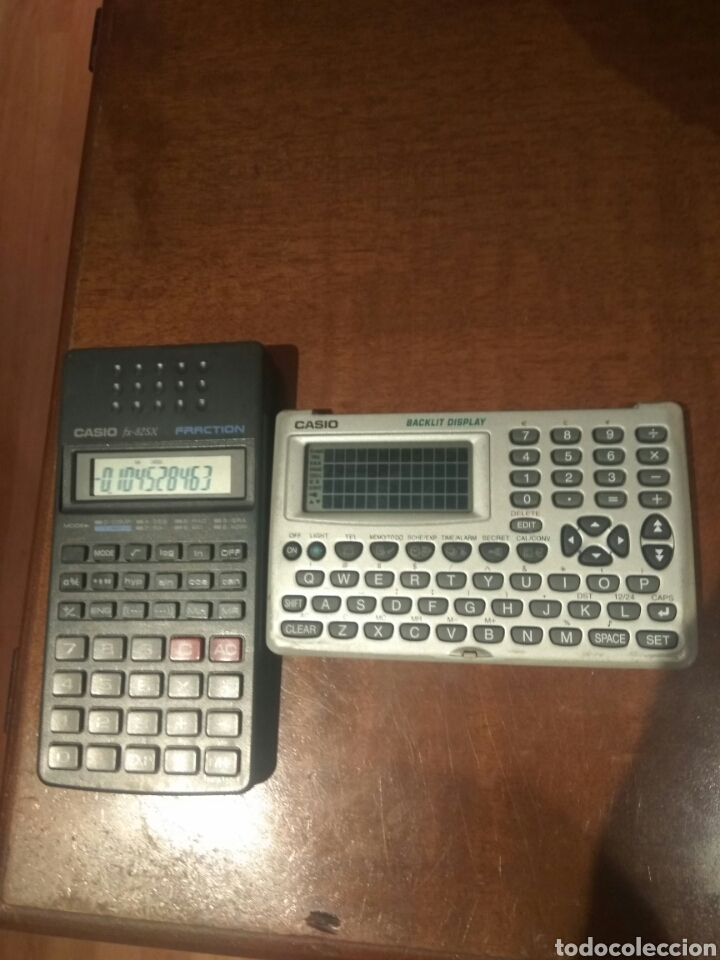 Antigüedades: Calculadora fracción y agenda personal Casio - Foto 2 - 214592680