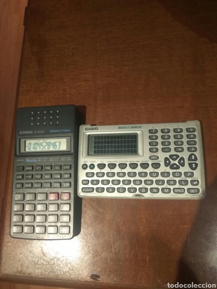 Antigüedades: Calculadora fracción y agenda personal Casio - Foto 3 - 214592680