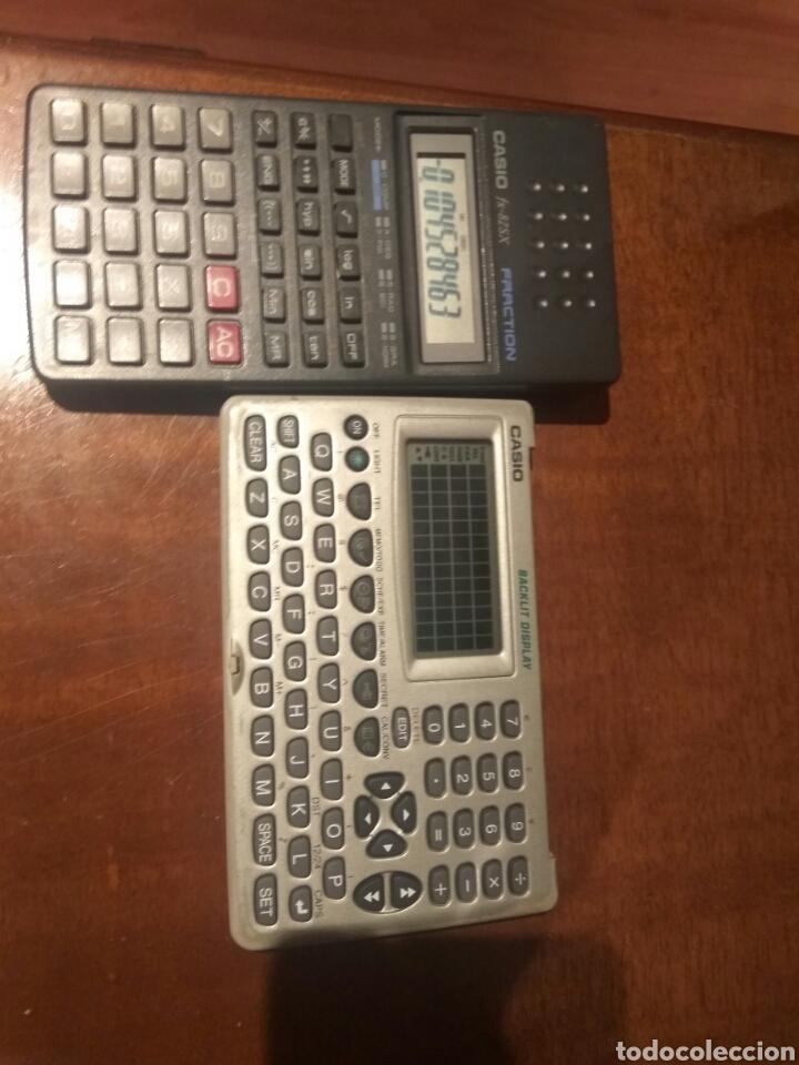Antigüedades: Calculadora fracción y agenda personal Casio - Foto 4 - 214592680