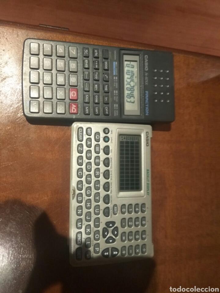 Antigüedades: Calculadora fracción y agenda personal Casio - Foto 5 - 214592680