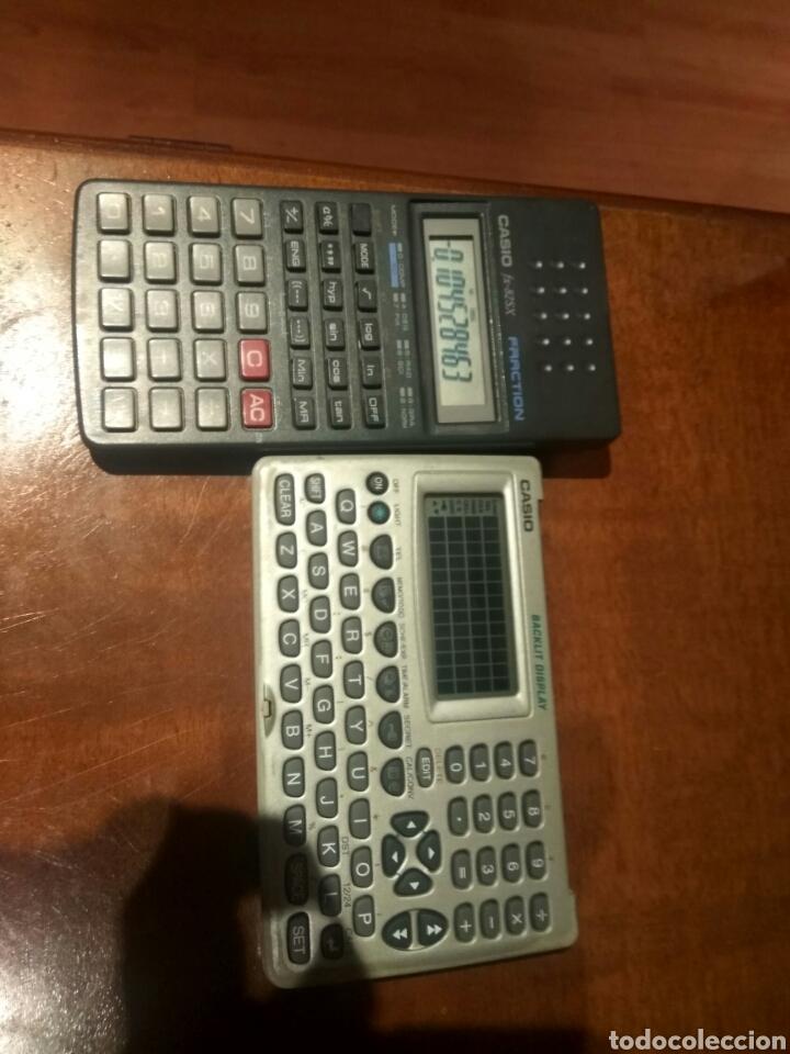 Antigüedades: Calculadora fracción y agenda personal Casio - Foto 6 - 214592680