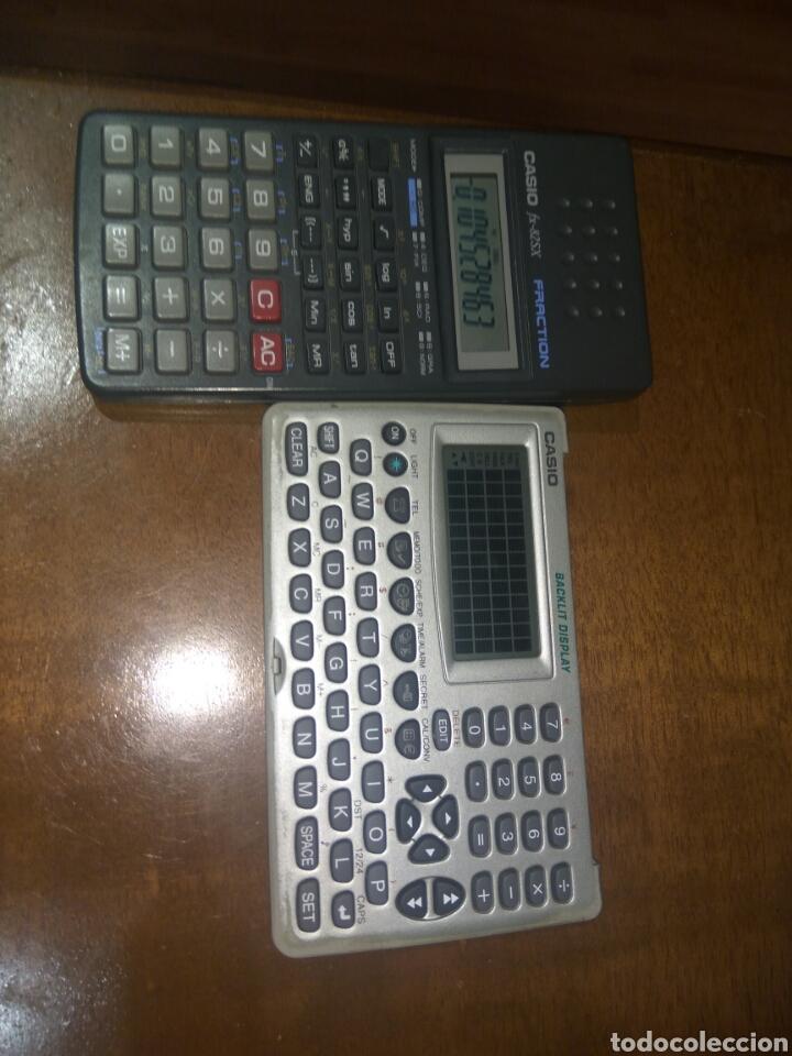 Antigüedades: Calculadora fracción y agenda personal Casio - Foto 7 - 214592680