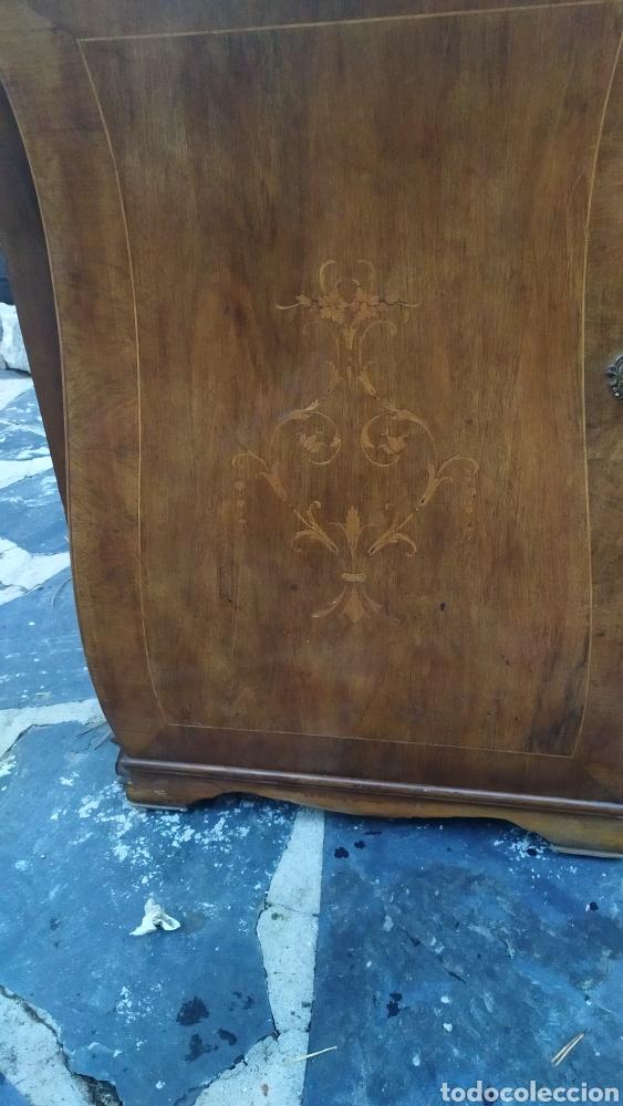 Antigüedades: Maquina de coser con mueble250 - Foto 3 - 214634178