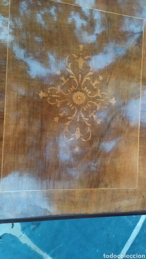 Antigüedades: Maquina de coser con mueble250 - Foto 4 - 214634178